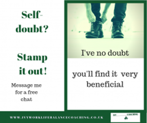 Self-doubt? Stamp it out!